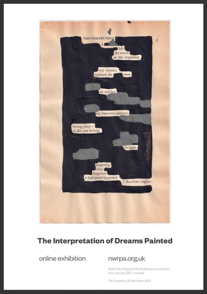 The Interpretation of Dreams: the forgetting