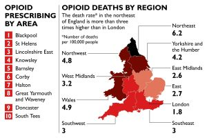 Opioid Deaths by Region